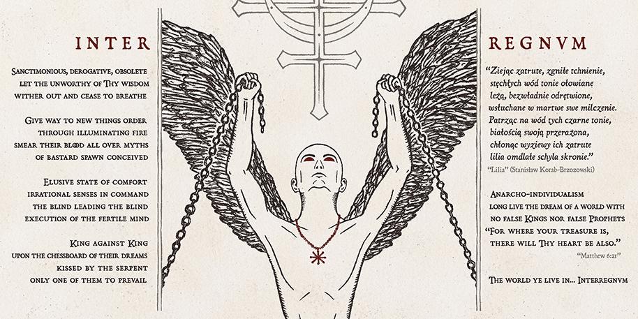 Devilish Impressions - Postmortem Whispering Crows artwork